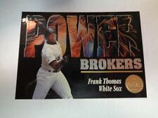 1994 The Leaf Set Power Brokers Frank Thomas Card #1 of 10