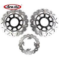 Front Rear Brake Disc Rotors Fit For Honda CBR600RR 2003 - 2015 2014 2013 DBS03