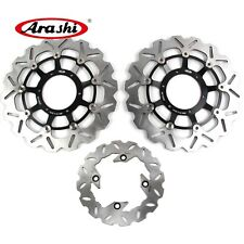 Front Rear Brake Disc Rotors Fits Honda CBR600RR 2003 - 2015 2005 CBR 600 RR