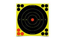 Birchwood Casey Shoot N C Bulls Eye Targets w/72 Pasters 8 Inch 6/Pack 34805-6