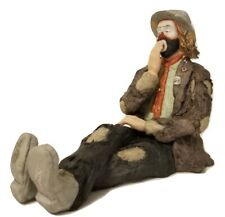 Hand Signed Emmett Kelly Jr Bedtime Flambro Limited Edition With Original Box