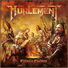 HÜRLEMENT - Terreur Et Tourment (NEW*2nd CD*HEAVY/SPEED METAL*FRANCE*SORTILEGE)