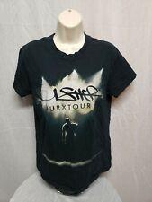 Usher urx Tour Adult Small Black TShirt