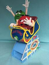 M&M Green and Red Wild Thing Roller Coaster, Candy Dispenser