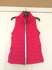 LULULEMON Size 6 Boom Juice Bright Pink Fluffed UP Down VEST ~ Barely Worn