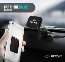 Magnetic Car Holder Dashboard Suction Cup Mount Stand for Cell Phone Pulse