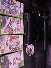 Xbox 360 S Slim 250GB Console Black Tested With Games