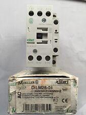 MOELLER CONTACTOR DILM25-01 230V 50HZ 11KW 400V