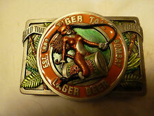 1995 - TIGER TAIL LAGER BEER BUCKLE