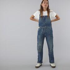 Levi Vintage Clothing Lvc envejecido Mono's Peto Bib Brace W34 Nuevo