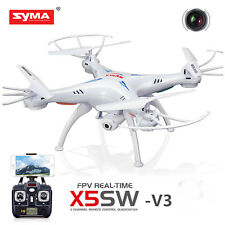 Drone with HD Camera Wifi FPV Explorers 2.4Ghz 4CH RC QuadcopterToys Syma X5SW