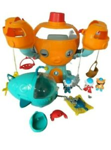 Octonauts Octopod Command Centre Playset With Figures & Gup A ~ Pre-owned