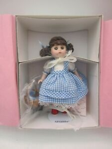 "Madame Alexander 5"" porcelain/bisque  Dorothy & Toto doll #27065"