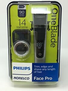 Philips Norelco Oneblade One Blade Face Pro Hybrid Electric Trimmer & Shaver