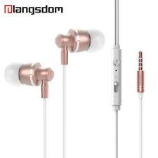 Kopfhörer In-Ear Sport Stereo Bass Ohrhörer Befestigungsclip Langsdom Rose M300