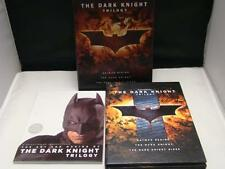 The Dark Knight Trilogy DVD Boxset Batman Begins, Dark Knight Rises, Dark Knight