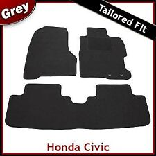 Honda Civic Mk7 5-Door 2000-2005 Tailored Carpet Car Mats GREY