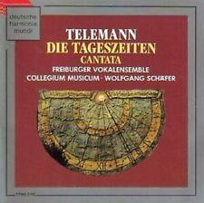 Telemann - Die Tageszeiten Gantata - Freiburger Vokalensemble CD