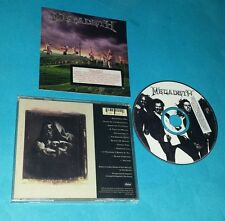 MEGADETH - YOUTHANASIA 1994 VERY RARE PROMO COPY CD - FREE SHIPPING!!
