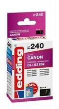 CANON CLI-521BK original edding Patrone 240 schwarz