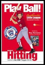 Play Ball Basic Hitting The Authentic Little League Baseball Guide DVD 2003 NEW