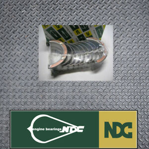 NDC STD Main bearing set fits Mitsubishi 4G62 G62B Sirius Cordia AA AB AC L300 E