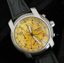 Mint Rare Men's Italy Locman Titanio Chronograph Watch with Locman Case