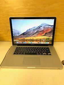 "Apple MacBook Pro A1286 Late 2011 Core i7-2675QM 2.2 GHz 8 GB RAM 1 TB HDD 15.4"""