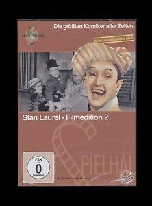 DVD STAN LAUREL FILMEDITION 2 - GROSSE KOMIKER - KLASSIKER *** NEU ***