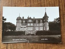 ASCOT Berkshire BERRYSTEDE HOTEL by W.H.A. 1900s RP  POSTCARD 21/10