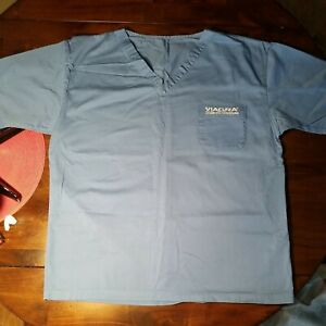 Viagra Scrub Top medical doctor shirt One Size Authentic New without tags.