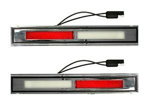 Mustang / Cougar / Galaxie Door Light Deluxe Complete Pair 1969 - 1970 - ACP