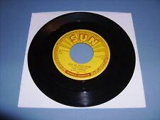 """CARL PERKINS """"LEND ME YOUR COMB"""" SUN-287 EXCELLENT ORIGINAL 1st 45 RPM"""