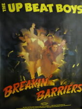 Up Beat Boys 1992 Boston boy band Rare Large Promo Poster Breakin' Barriers Mint