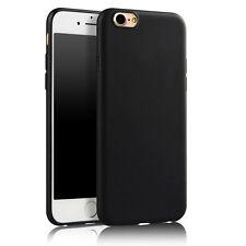 iPhone 7 Silikon Case Tasche Handyhülle Bumper Etui Schale Schwarz