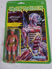 Iron Maiden Ornament Somewhere in Time Reaction Figure Green 15x23cm