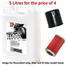 Suzuki GS 500 E-K5 GM51A 2005 Ipone R4000 RS 10w40 5L Oil and Filter Kit