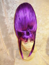 SUPER TALL HAND STYLED BEE HIVE BIG HAIR DAME DRAG QUEEN WIG READ DESCRIPTION!