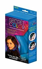 Secret Color Hair Extensions, Blue