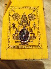 Leklai Thai Buddha Amulet  Mindfulness Meditation Pendant # 02