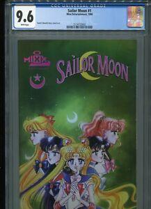 Sailor Moon #1  (1st issue - Mixx)   CGC 9.6  WP