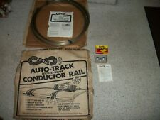 1/24 1/32 vintage tru-flex rails & build homemade slot car track aurora plastics