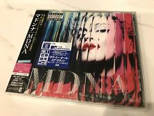 """Factory Sealed"" MADONNA ""MDNA"" 2012 CD Japan UICS-1247, w/OBI, Limited Edition"
