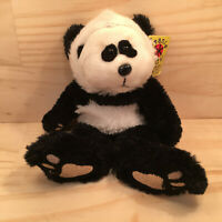 "BEANIE KIDS ""Bamboo The Panda"" Collectable Teddy Bear Cuddly Soft Toy Friend"