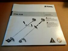 STIHL Owners Instruction Manual FS 90 English/Spanish OEM