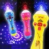1x Creative Microphone Luminous Singing Music Toy Flash Light Up Stick Fun Gift