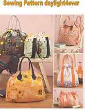 Purse Backpack Totes Cosmetic Bag Sewing Pattern 8037 Simplicity New 5 Styles #k