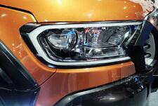 White DRL LED Head Lamp Light Frame Trim For Ford Ranger T6 MC 2015 2016 2017 k