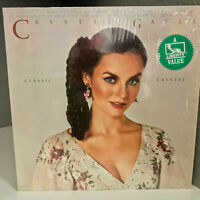 """CRYSTAL GAYLE - Classic Crystal (in shrink) 12"""" Vinyl Record LP- EX (Cheesecake)"""