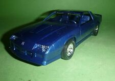 MPC Dealer Promo Blue 1987 Camaro 1/25 MODEL CAR MOUNTAIN GREAT SLOT BODY